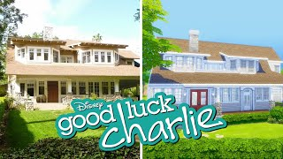 Building Good Luck Charlie's House in The Sims (Streamed 10/12/20)