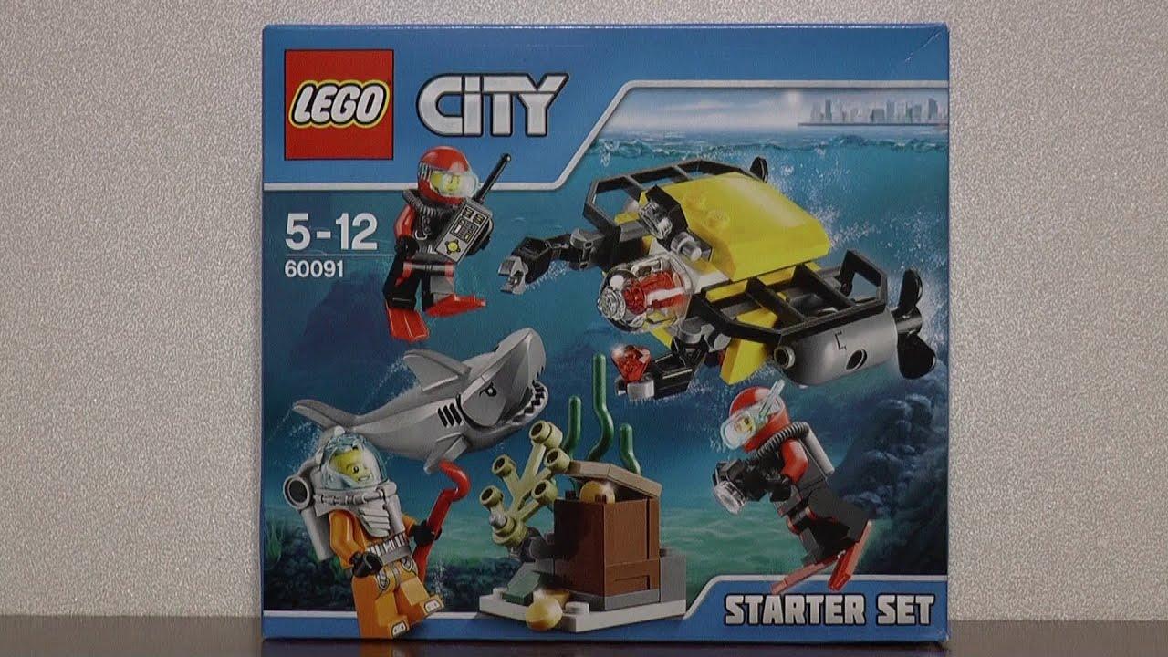 Lego City 60091 Podwodny świat Zestaw Startowy Youtube