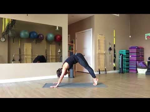 Pilates Mat Flow with Trainer Fiona Hermanutz.  Intermediate Advanced 60 minutes flow