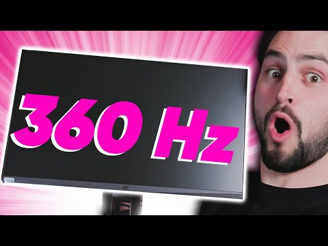 360Hz Gaming Monitor - I Need This NOW!!