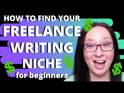 How to Find Your Freelance Writing Niche (Perfect and Profitable) for Beginners