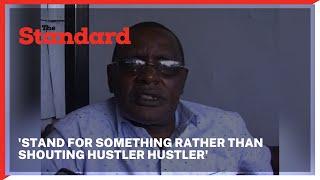 Angered John Musingi calls upon UDA to stand for something other than shouting 'hustler hustler\'
