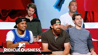 Dude Perfect Celebrate Their Epic Shots 🏀 | Ridiculousness | MTV