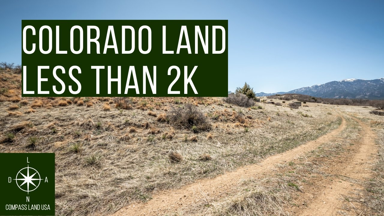 Sold by Compass Land USA - Colorado Investment Lot Less than 2k with Mountain View