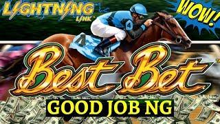Lightning Link BEST BET Slot Machine BIG WIN | Buffalo Gold Slot , 88 Fortunes Slot & High Stakes