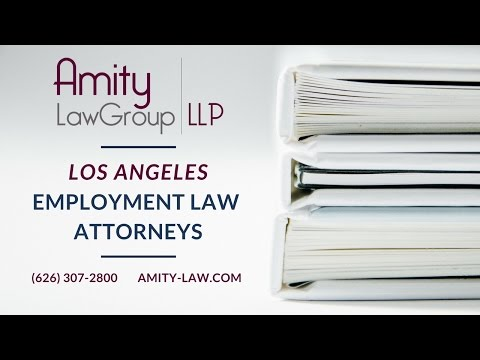 Los Angeles Employment Law Attorneys | Employment & Labor Law | Amity Law Group | (626) 307-2800