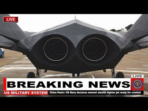 China Panic: US Navy declares newest stealth fighter jet ready for combat