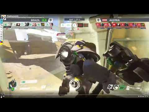Brazil VS Austria Overwatch World Cup VOD review