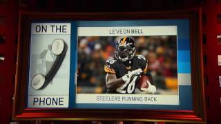 Pittsburgh Steelers RB Le'Veon Bell Reveals His Running Technique - 1/5/17