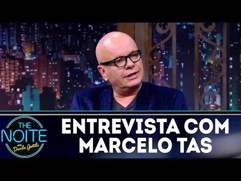 Entrevista com Marcelo Tas | The Noite (09/04/18)