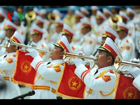Viet Nam Military Parade Music - Marching Band - Part 1
