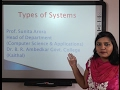 System Analysis & Design: Types of Systems in Hindi under E-Learning Program