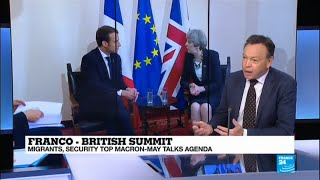"""Franco-British Summit: """"The elephant in the room is Brexit!"""""""