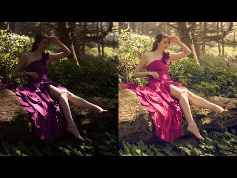 How to reduce harsh lighting and shadows in photos using Adobe Photoshop Tutorials CC Creative Cloud