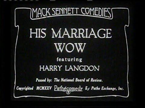 1925 - His Marriage Wow (Rótulos en Castellano)