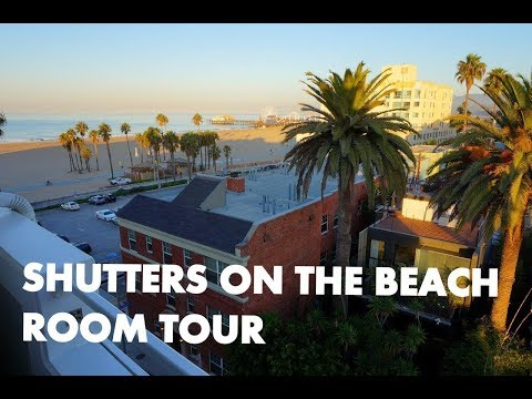 SHUTTERS ON THE BEACH - Santa Monica luxury hotel room tour