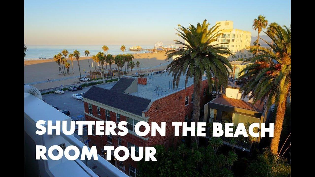 Shutters On The Beach Santa Monica Luxury Hotel Room Tour