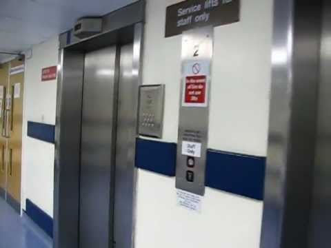 Lifts at Ealing Hospital