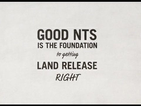Non Technical Survey   The foundation to getting land release right