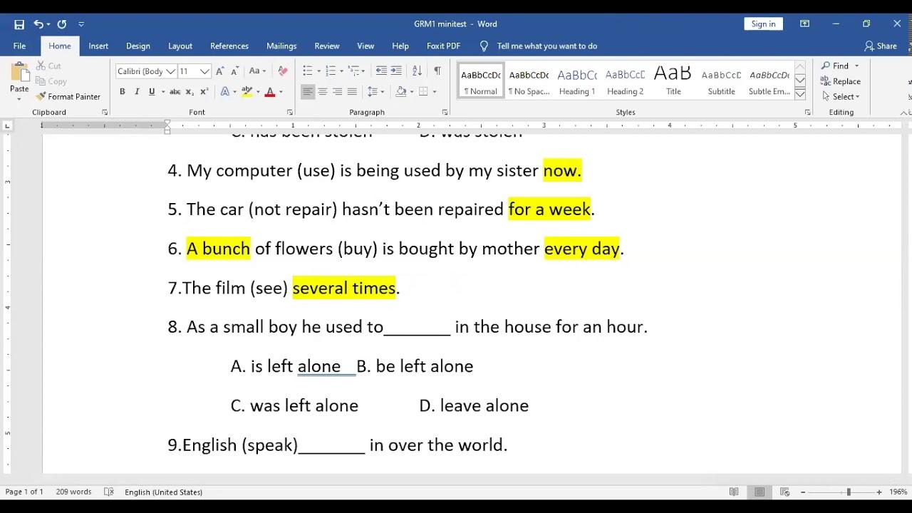 Tiếng Anh lớp 7 – Unit 8 full từ vựng + ngữ pháp + chữa BT ví dụ