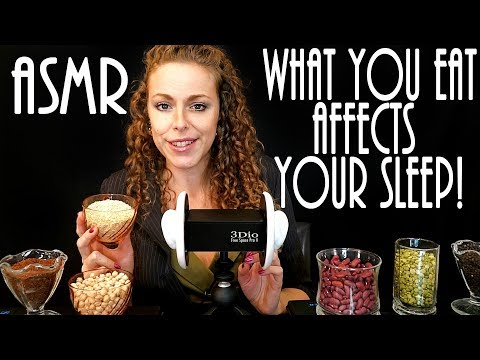 ASMR – Foods that Help you Sleep – Binaural Soft Spoken (Real Health Coach not Role Play)