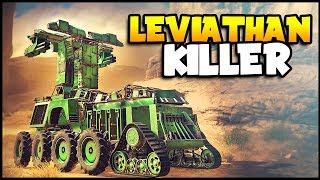 Crossout - That Leviathan Is MASSIVE & INSANE! - Crossout Gameplay (Leviathan Raid Battles)