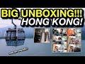 BIG UNBOXING IN HONG KONG! +Jalan-jalan!!!