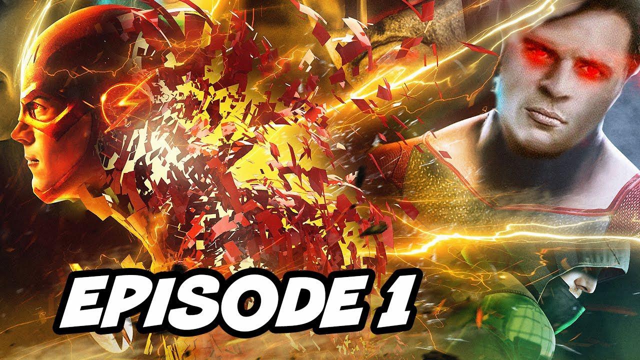 The Flash Season 6 Episode 1 Trailer - Crisis On Infinite Earths Teaser  Breakdown