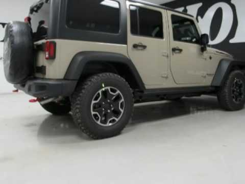 2017 Jeep Wrangler Unlimited Rubicon New Gobi Tan Suv For