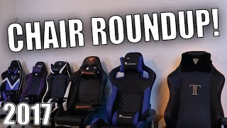 Buy the Best Gaming Chair! - Gaming Chair Roundup 2017