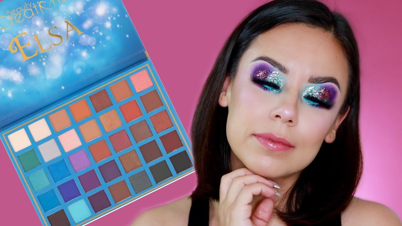 MAQUILLAJE COLORIDO | BEAUTY CREATIONS ELSA PALETTE