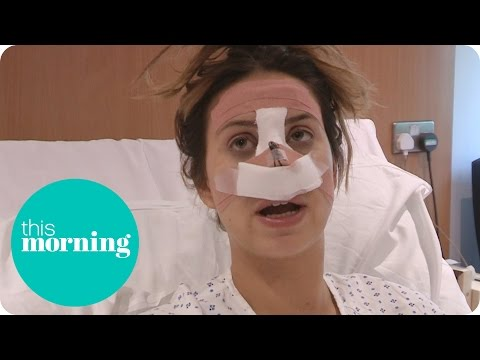 Ferne McCann Undergoes Nose Surgery   This Morning