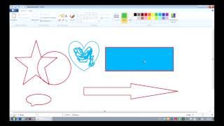 Занятие 10. Как рисовать на компьютере(На это занятии вы научитесь рисовать в графическом редакторе MS Paint. Адрес лекции на портале