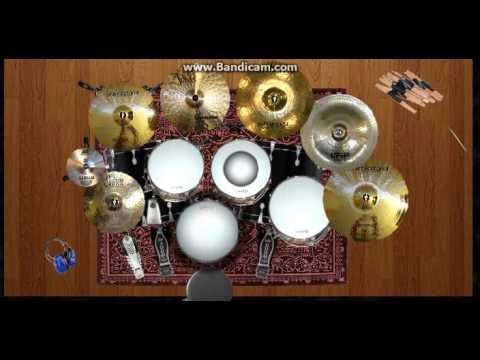 peterpan taman langit virtual drum cover