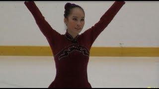 Sarah Wong (Short Program) - 2014 Singapore National Figure Skating Championship