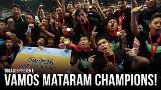 Short Film: Vamos Mataram Champions of Pro Futsal League 2017!