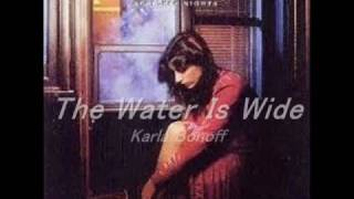 The Water Is Wide - Karla Bonoff 悲しみの水辺 / カーラ・ボノフ.