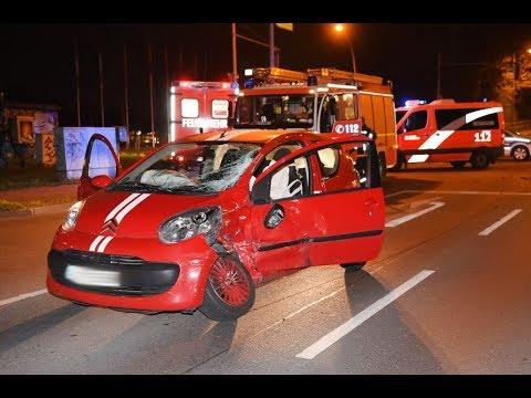 Kreuzungscrash in Berlin-Pankow - Zwei Verletzte
