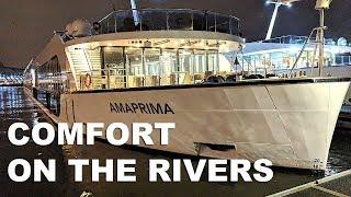 AmaWaterways AmaPrima Cruise Ship Tour