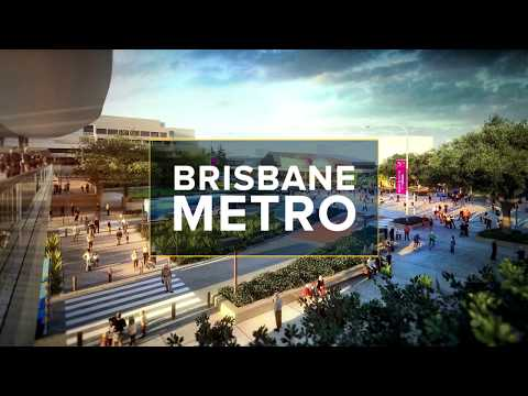 Brisbane Metro South Bank Underground Station