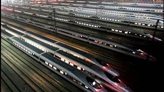 Китайская  железная дорога Самая быстрая в мире