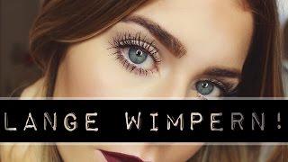 LANGE WIMPERN - ein paar Tipps! | BELLA