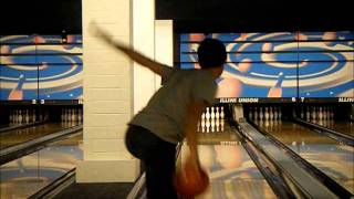 Bowling Slow Motion Releases Power Tweener