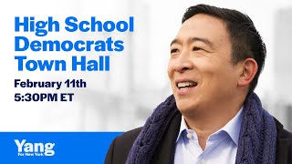 Townhall with Andrew Yang and HSDA