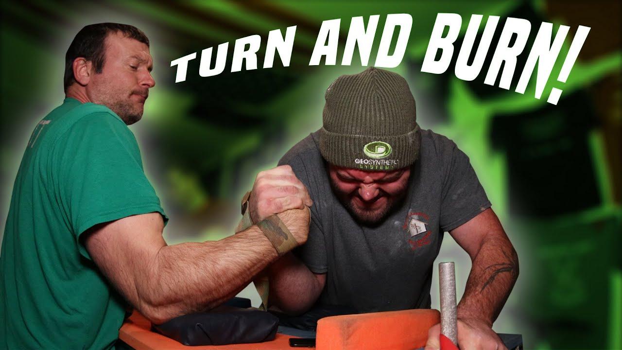Strap match Arm wrestling wrist trainer large