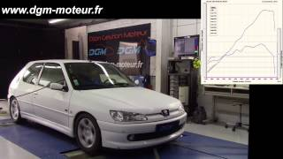 Peugeot 306 S16 2 0L 16S reprogrammation DGM