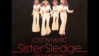 Sister Sledge - Lost in music - Sure is pure remix (1993)