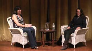 Mary Karr in conversation with Brooke Warner at The Hillside Club, Berkeley, Sept 2015