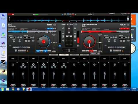 Virtual DJ Mix - The Chainsmokers - #Selfie vs. PSY - Gentleman