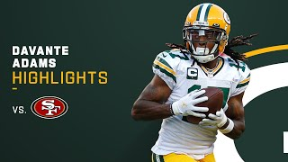 Every Davante Adams Reception from 132-Yd Game | NFL 2021 Highlights